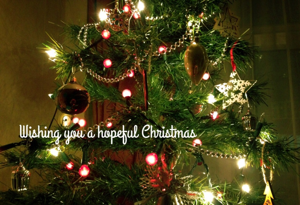 Wishing you a hopeful Christmas